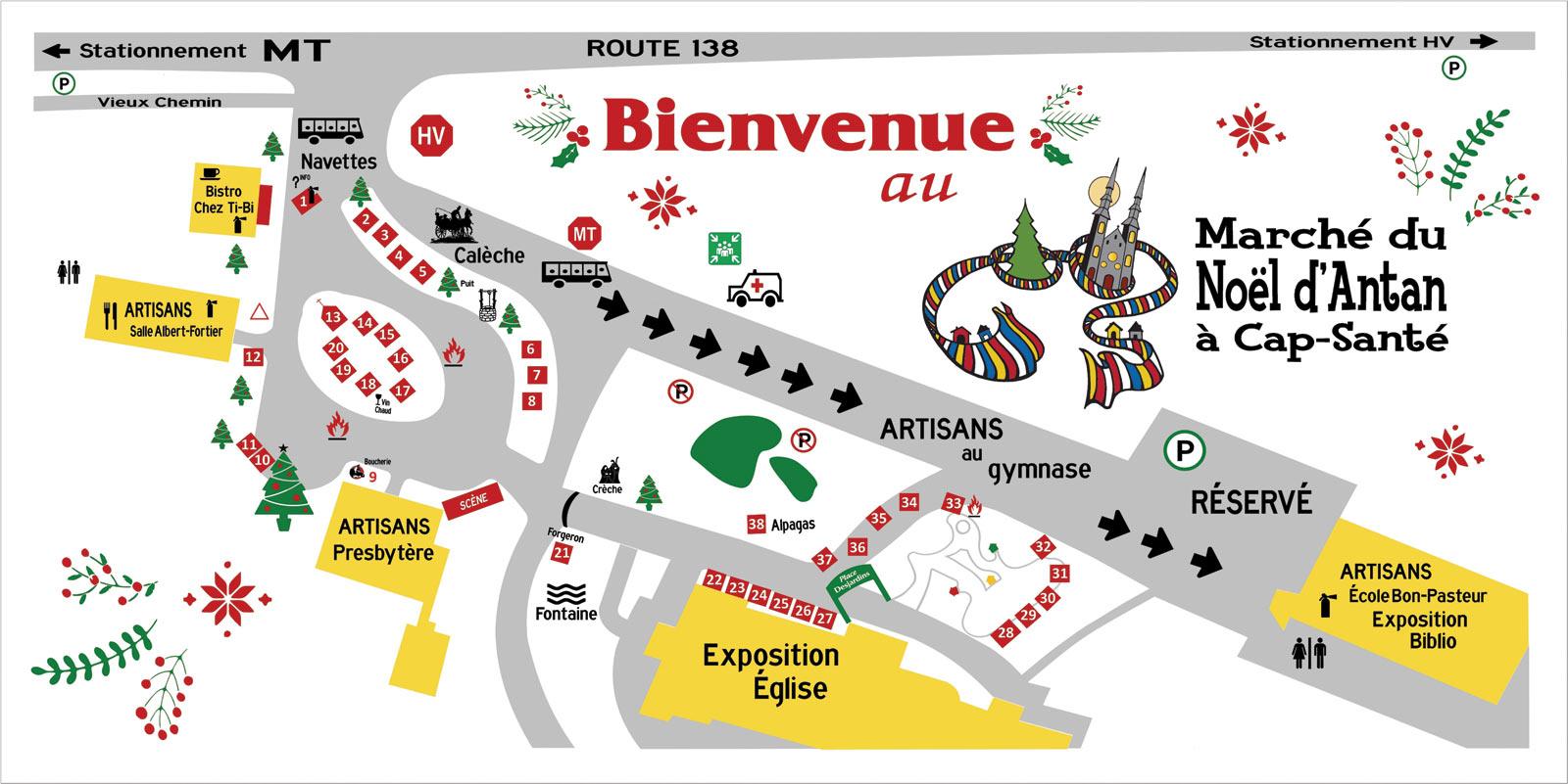 Carte du site